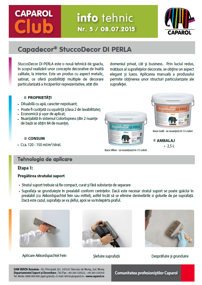 StuccoDecor DI PERLA